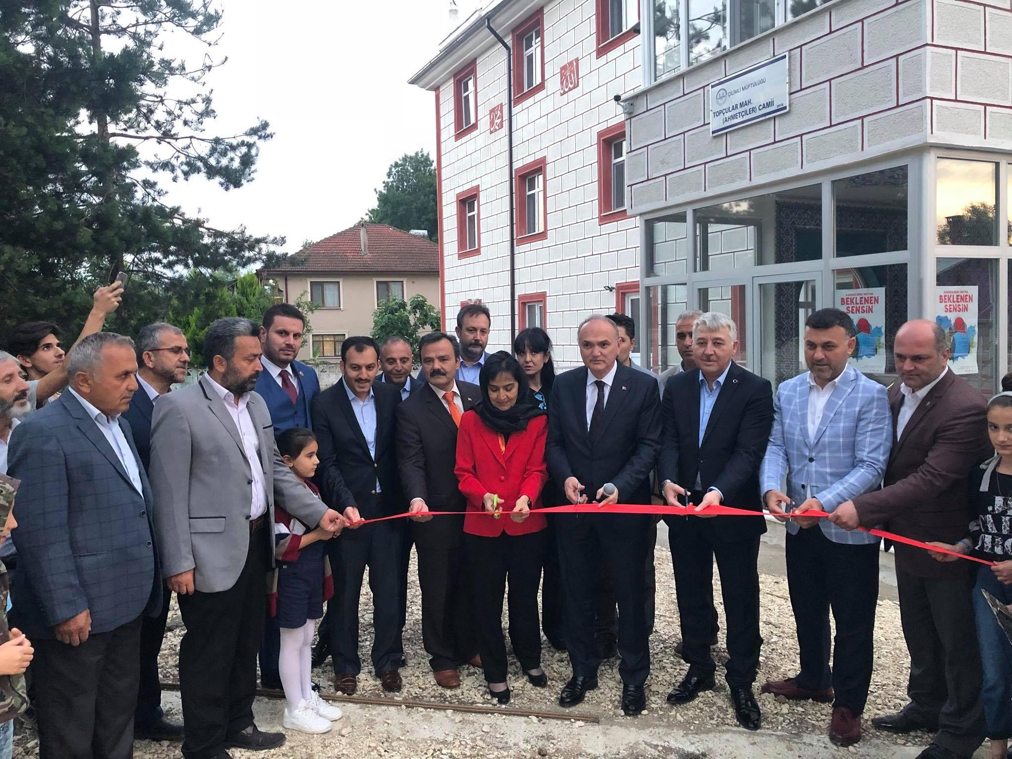 Topçular Mahallesi Ahmetçiler Camii Açılışı ve İftar Programı