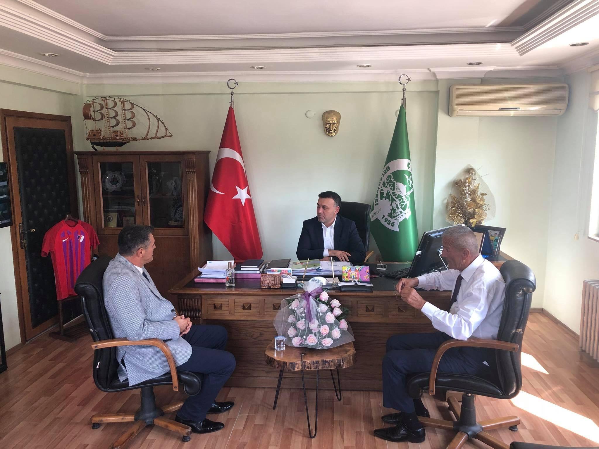 Düzce Milletvekili Ümit Yılmaz Belediye Başkanımız Muhsin YAVUZ'U Ziyaret Etti
