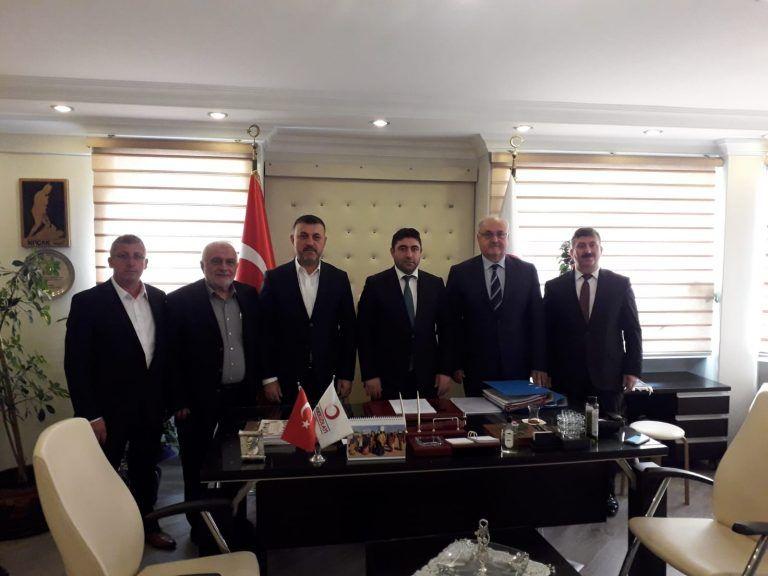 Belediye Başkanımız Yeni Kızılay İl Yönetimini Ziyaret Etti