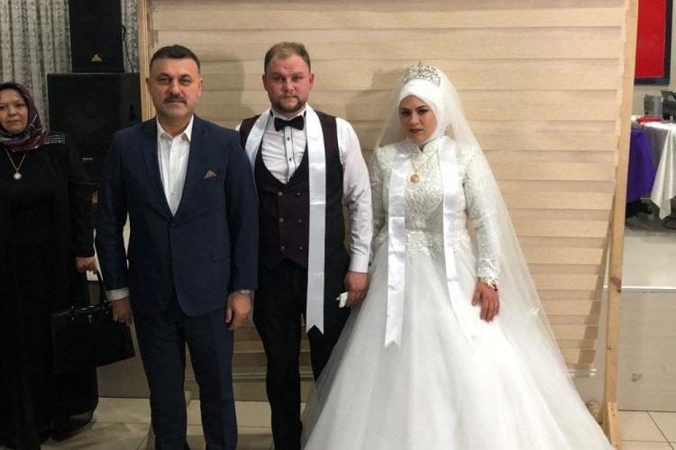 Başkanımız Şeyda ve Hilmi AVCI Çiftinin Düğün Merasimine Katıldı