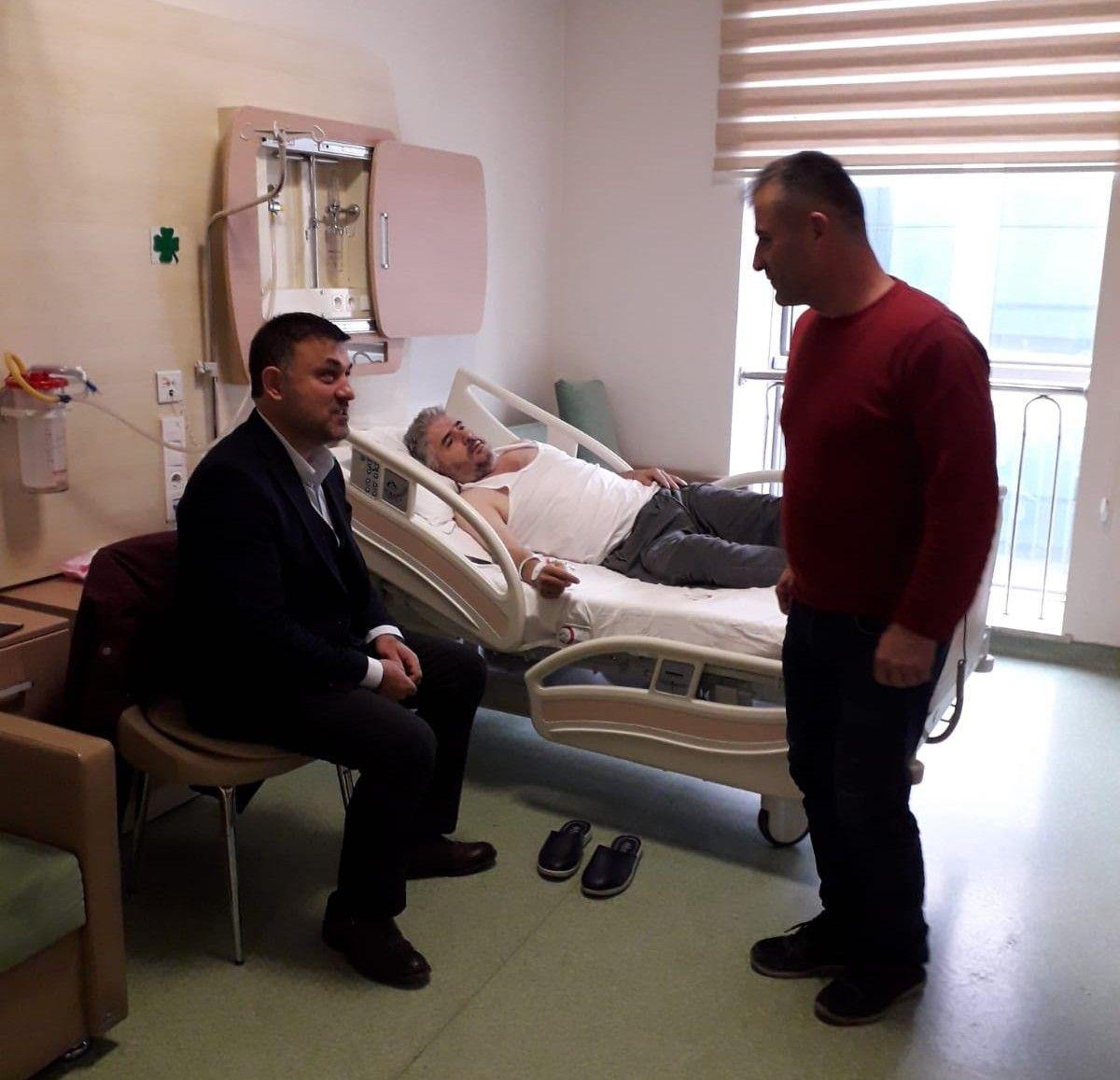 Belediye Başkanımızdan Hasta Ziyareti