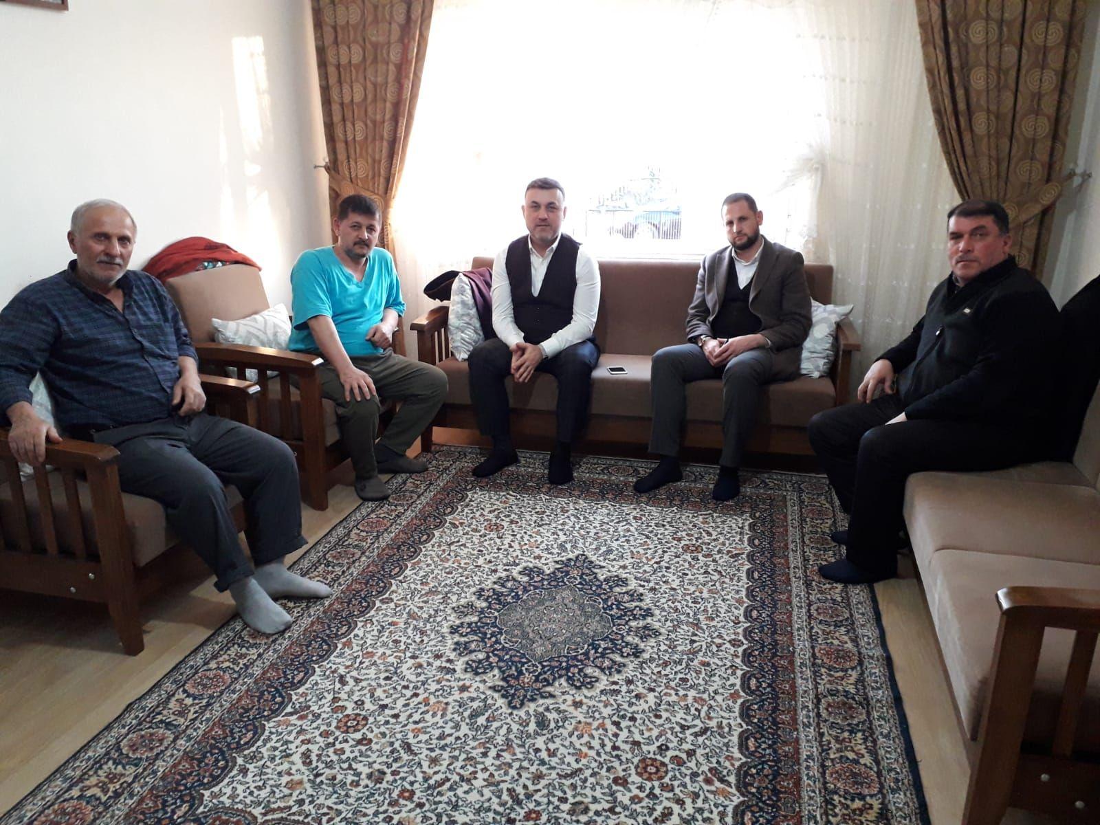 Belediye Başkanımız Muhsin Yavuz Hasta Ziyaretinde Bulundu
