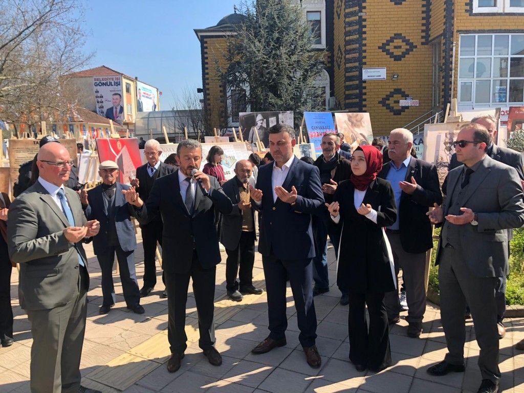Başkanımız 18 Mart Çanakkale Zaferi ve Şehitleri Fotoğraf Sergisi