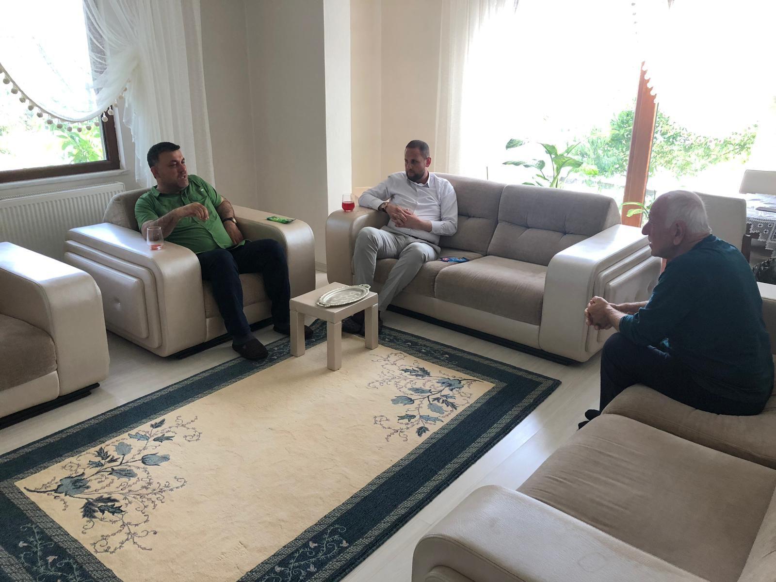 Başkan Yavuz Bayram Dolayısıyla Hasta Ziyaretlerinde Bulundu