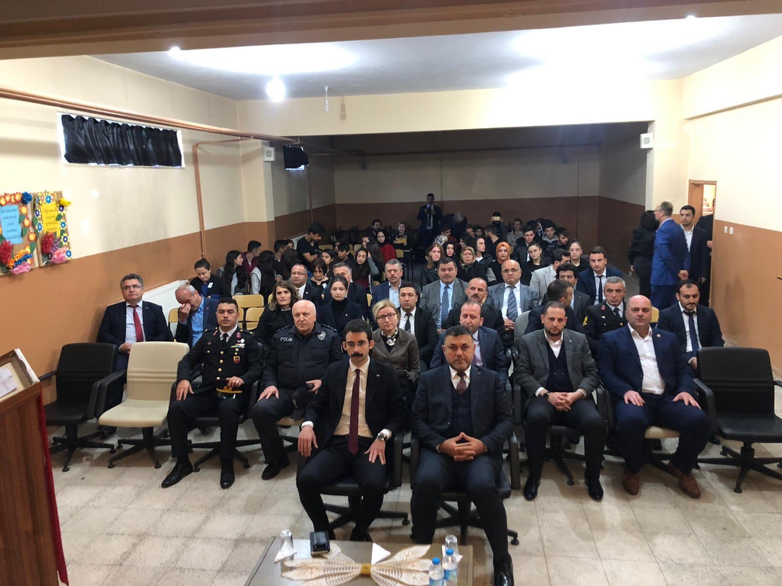 İlçemizde 10 Kasım Atatürk'ü Anma Etkinlikleri Düzenlendi