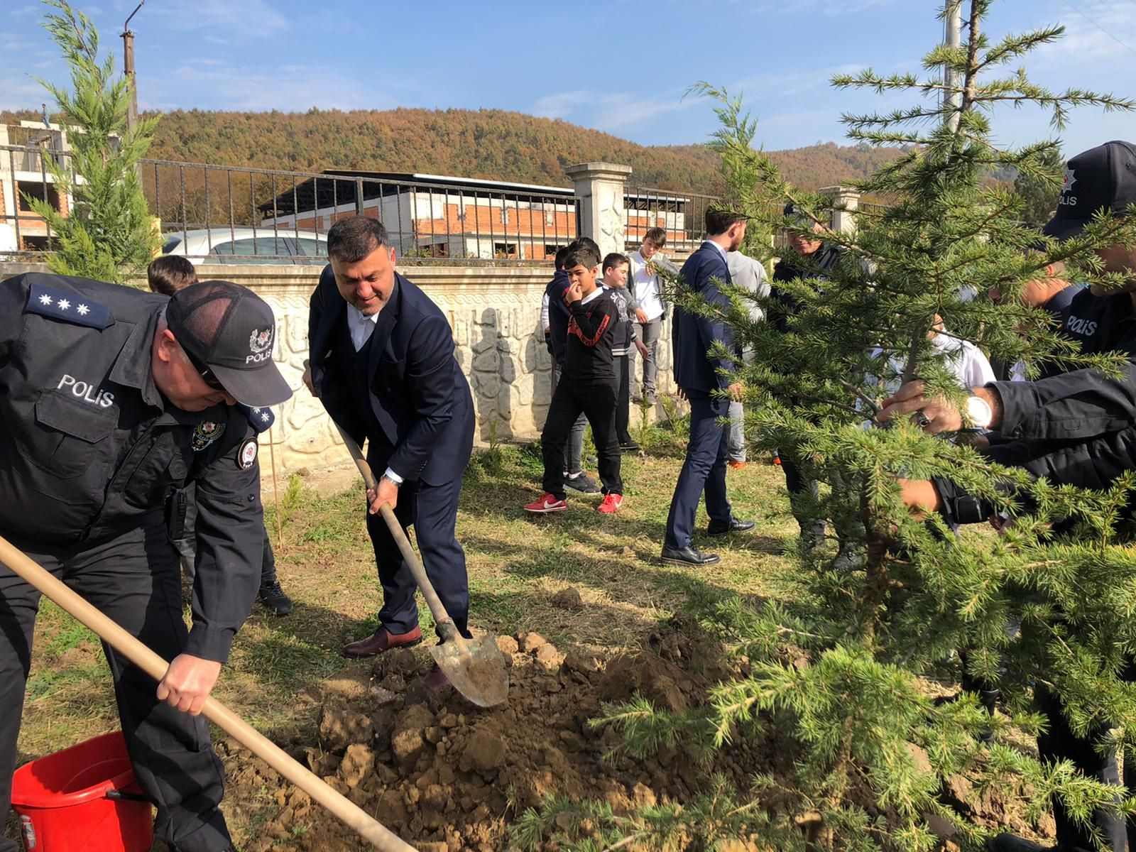 Milli Ağaçlandırma Günü Kapsamında Fidanlar Toprakla Buluştu