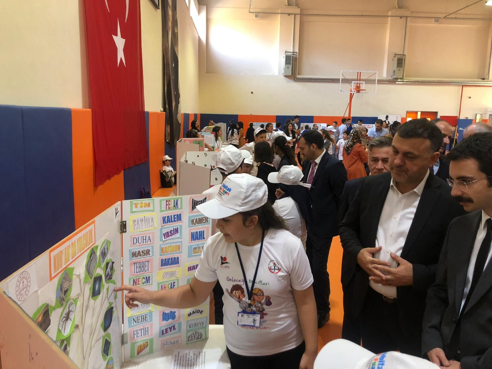 Başkan Yavuz Tubitak Bilim Fuarı Açılışını Gerçekleştirdi