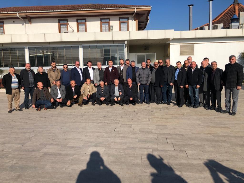 Başkan Yavuz, Muhtarlarla birlik, beraberlik, istişare ve değerlendirme toplantısında bir araya geldi.