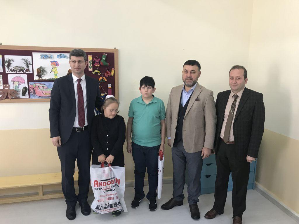 Belediye Başkanımız Muhsin YAVUZ Özel Öğrencileri Ziyaret Etti