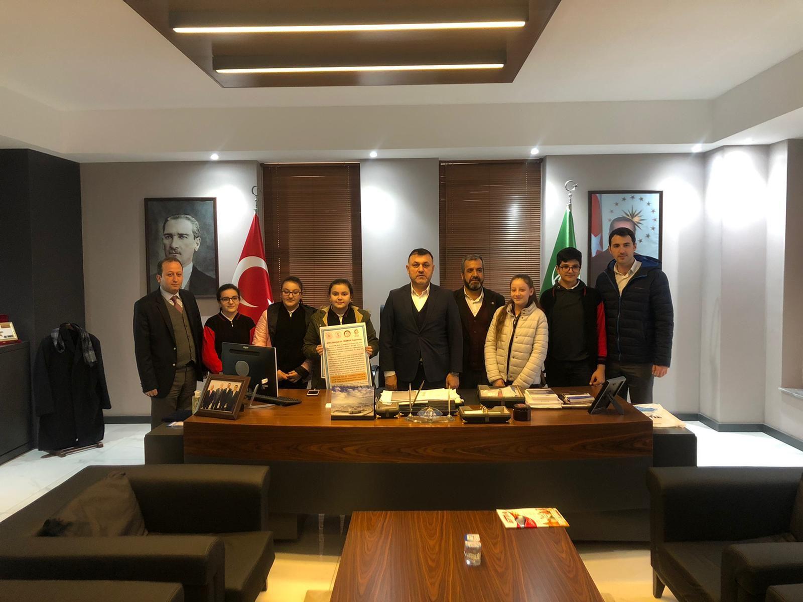 Erdemliler Derneği Belediye Başkanımız Muhsin Yavuz'u Ziyaret Etti