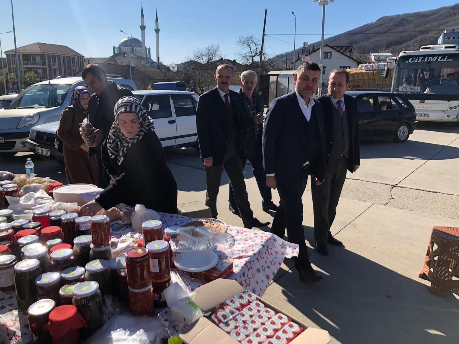 Başkan Yavuz İdlib İçin Düzenlenen Kermese Katıldı