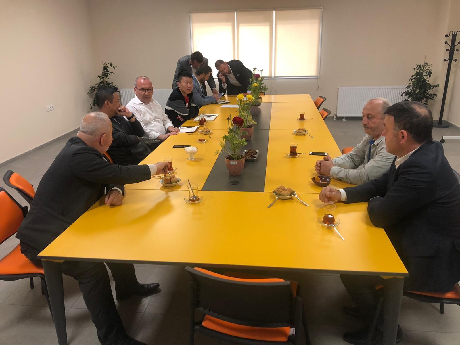 Başkan Yavuz'dan TTX Fabrikasına Ziyaret