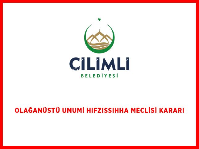 OLAĞANÜSTÜ UMUMİ HIFZISSIHHA MECLİSİ KARARI -202023