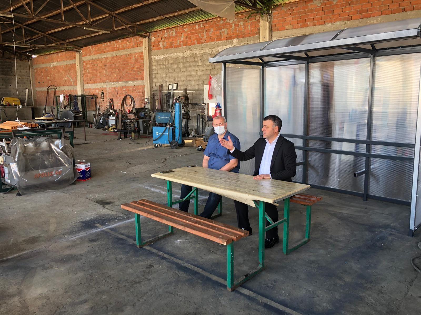 Başkan Yavuz Personelle Toplantı Gerçekleştirdi