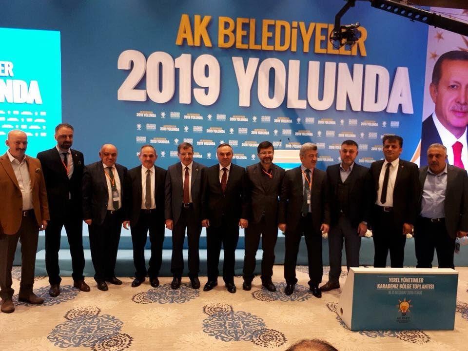 Belediye Başkanımız Muhsin YAVUZ Yerel Yönetimler Karadeniz Bölge Toplantısına Katıldı
