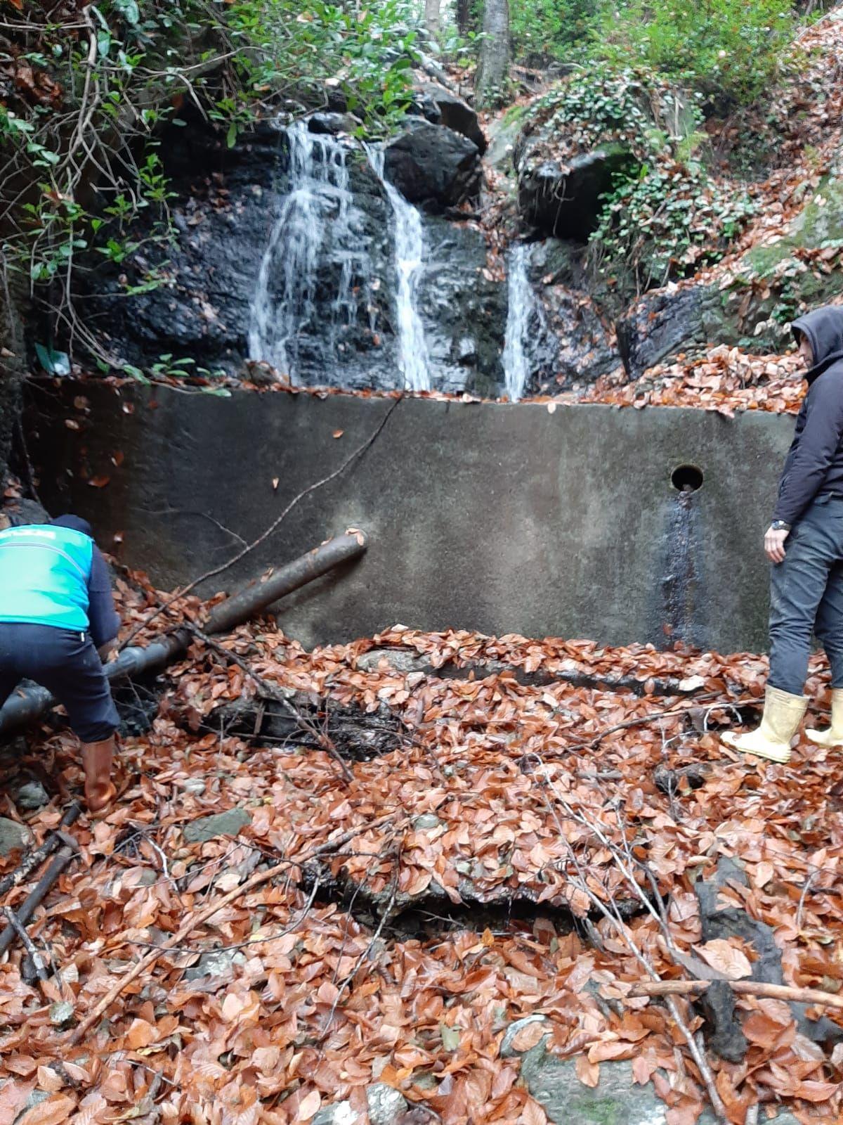 İlçemiz su kaynaklarında kış bakımı gerçekleştirildi