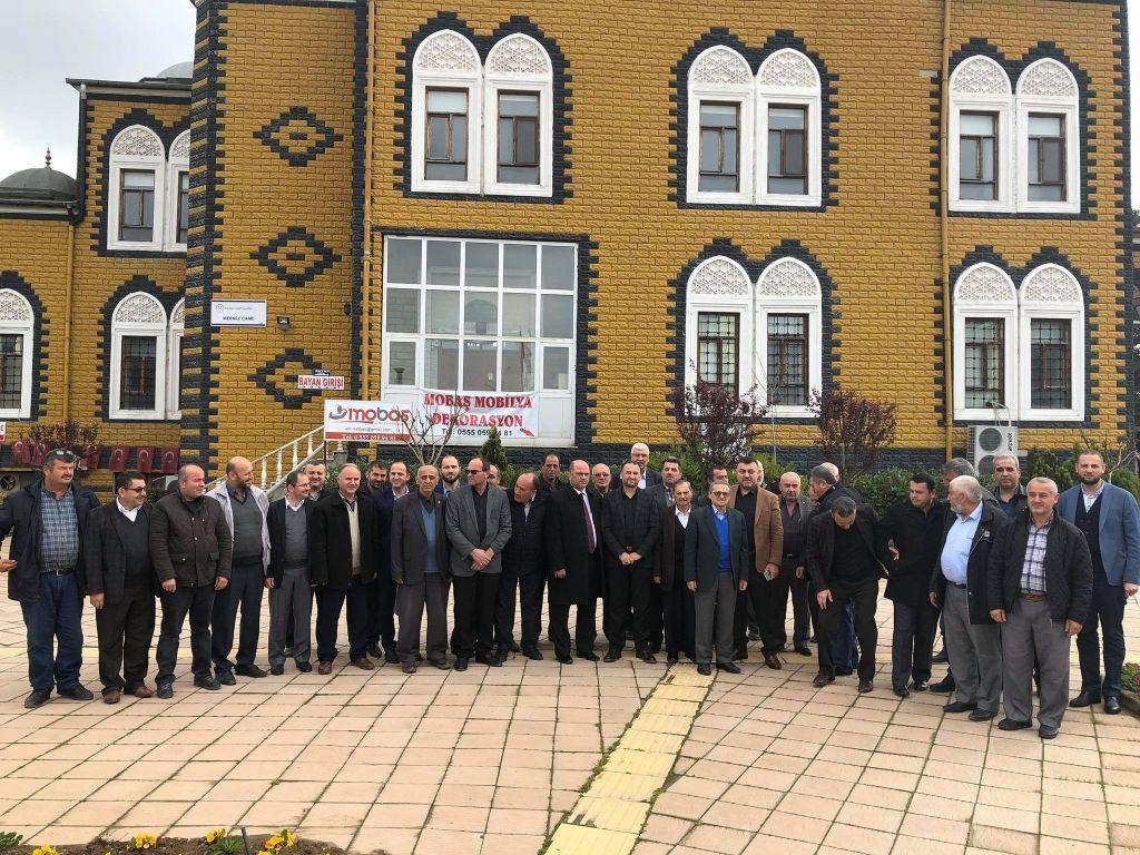 Belediye Başkanımız Muhsin YAVUZ'un Başkanlığında İstişare ve Yerel Buluşmalar Toplantısı Düzenledi